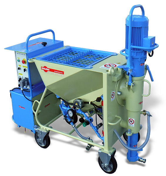 mixing pump for ready-mix dry mortar - Edilmac CK 30