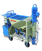 Mixing pump CK 30 for ready-mix dry mortars