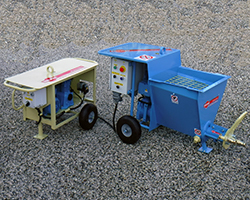 single-phase small plastering machine for traditional mortar FC 50.