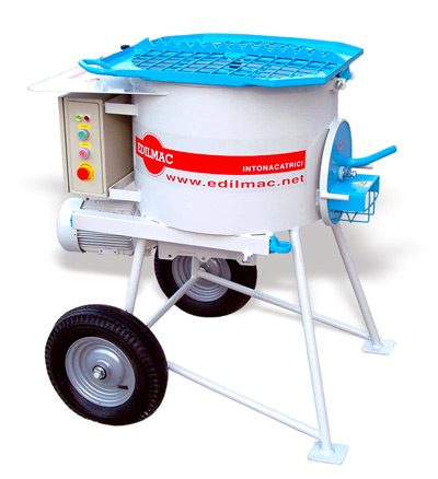 Planetary mixer for all type of plasters and mortars, EDILMAC R 50